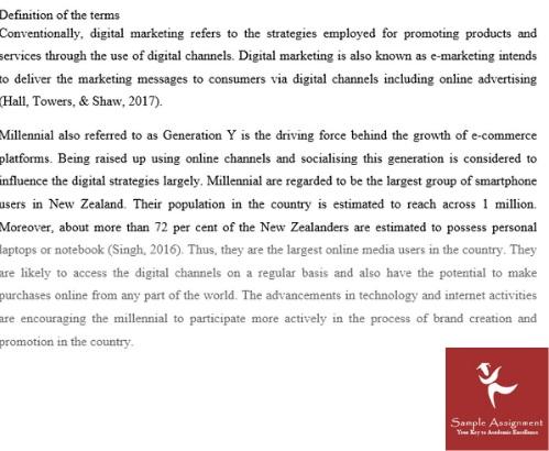 strategic marketing management assignment sample online