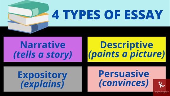 4 types of essay