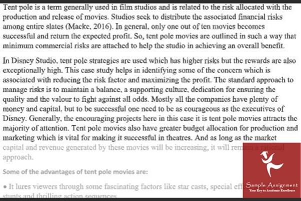 Film Studies Essay sample