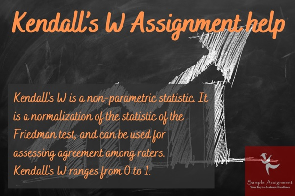 Kendalls W assignment help