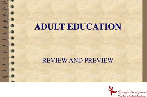 adult education assignment help review and preview