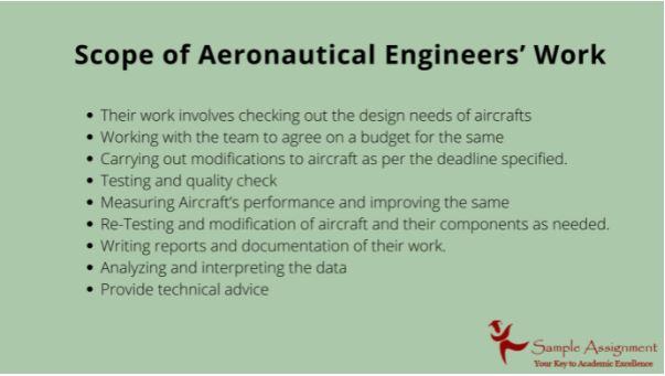 aeronautical engineering assignment help in UK