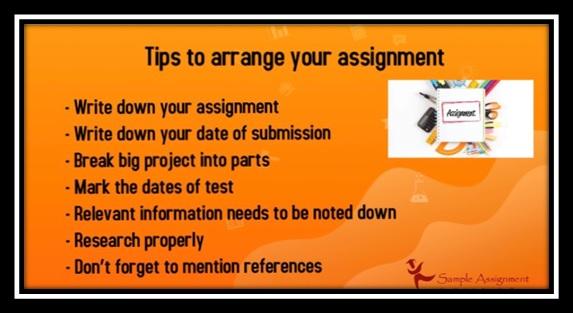 arrange your assignment uk