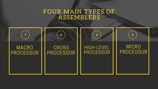 Assembler types
