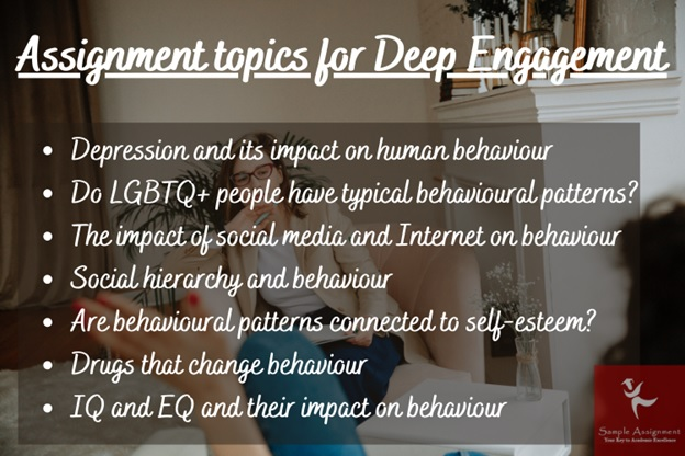 assignment topics for deep engagement