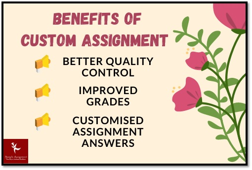 benefits of custome assignment help