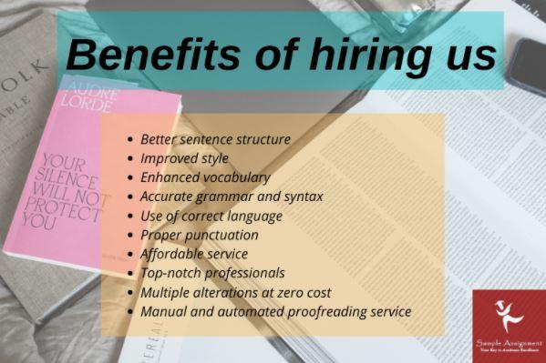 benefits of hiring sample assignment