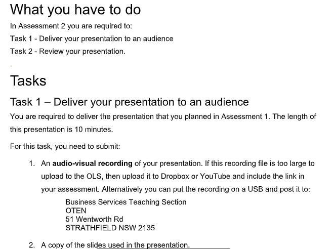 bsbcmm401 academic assistance through online tutoring