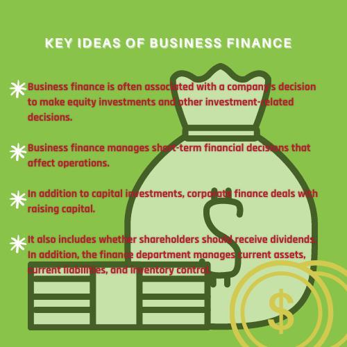business finance ideas