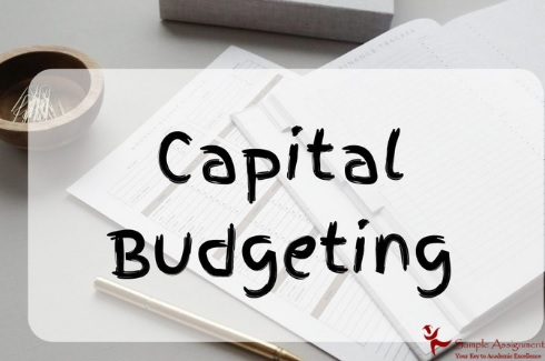 captital budgeting assignment help