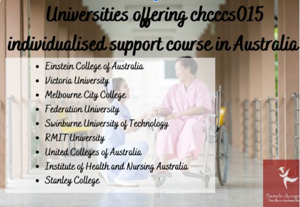 chcccs015 individualised support assessment help