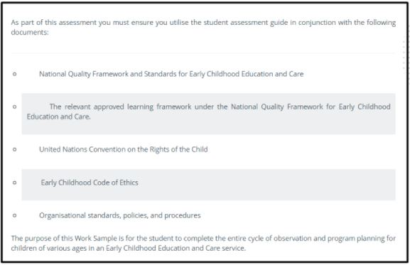 childcare dissertation-related question sample