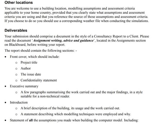 civil engineering coursework sample