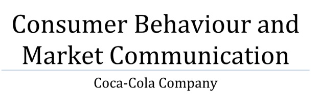 consumer market communication