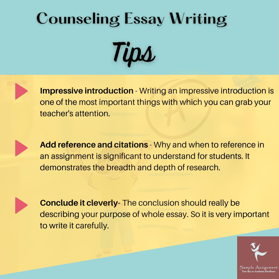 counselling essay writing service