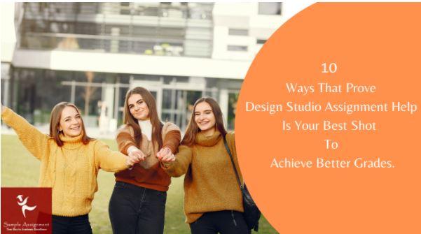 design studio assignment help Australia