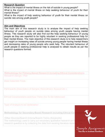 dissertation methodology samples