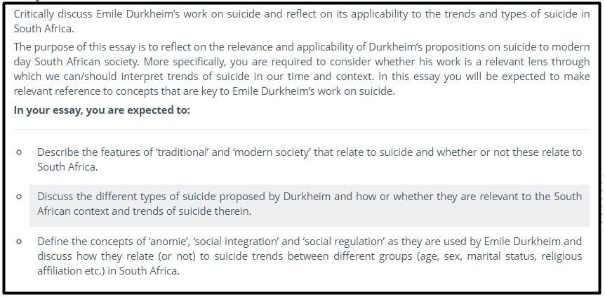 dissertation sociology sample