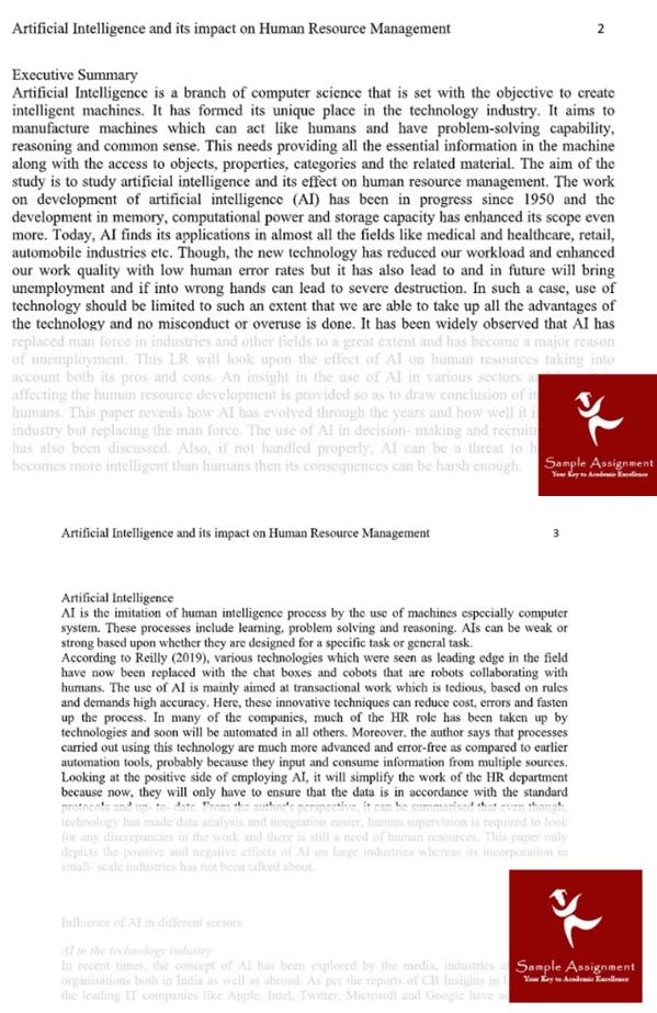empirical paper sample uk