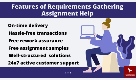 features of requirement gathering assignment help