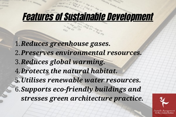 features of sustainable development