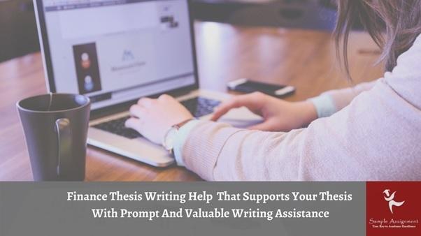 finance thesis writing help uk