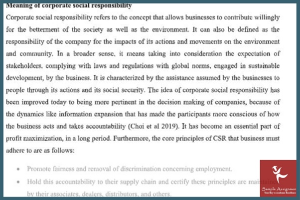 global business environment example