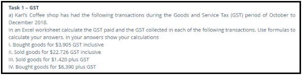 goods services tax assignment sample help