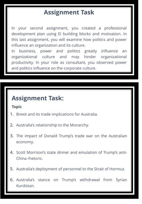 government assignment question uk