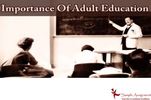 importance of adult education assignment help