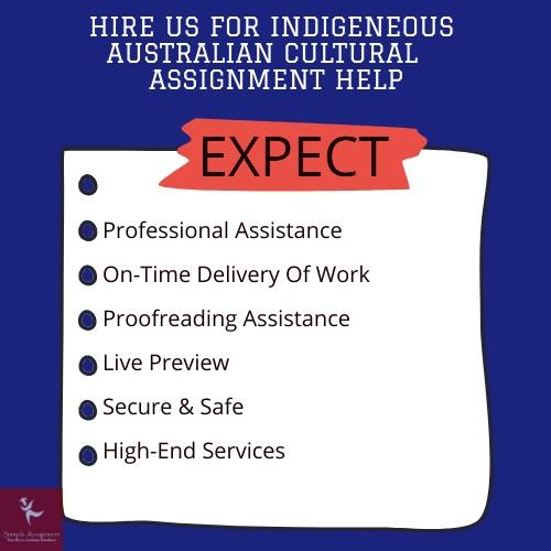 indigenous australian cultures assignment help