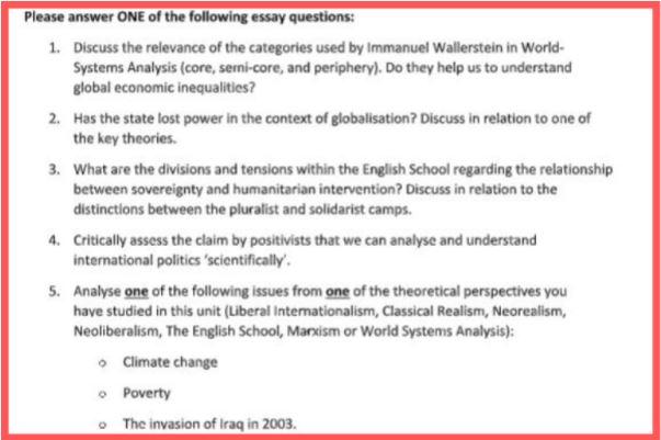 international studies writing help uk
