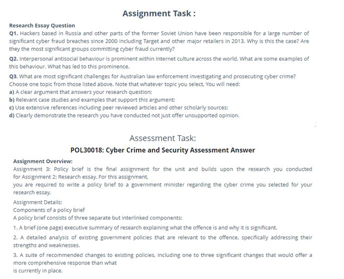 internet law assignment sample
