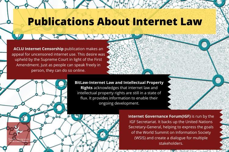 internet law publications