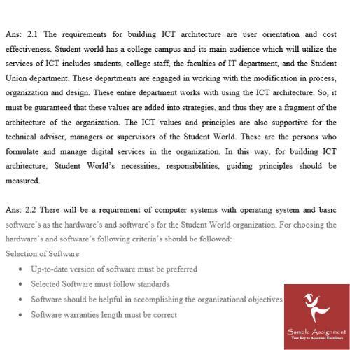 internet technologies assignment answer