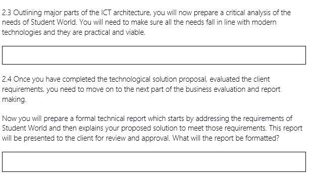 internet technologies assignment sample