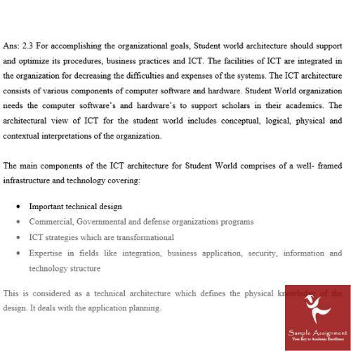 internet technologies assignment solution
