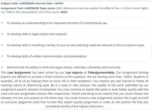law school question