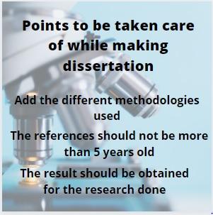 making dissertation