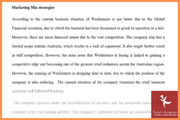 marketing environment analysis assignment sample online
