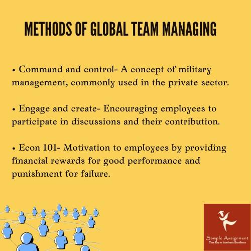 methods of global team managing