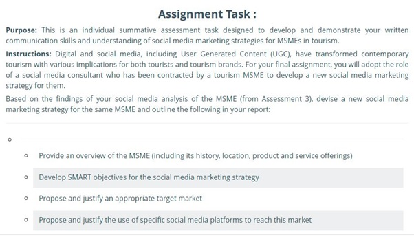 msme assignment question