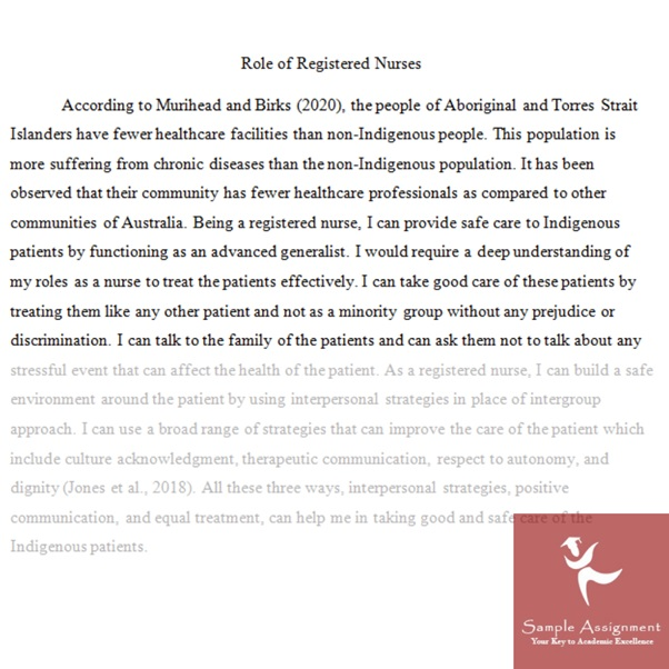 nursing research paper example online Canada