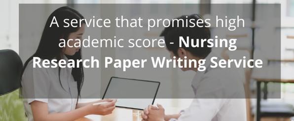 nursing research paper writing service canada