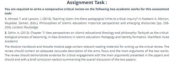 pedagogy essay sample online