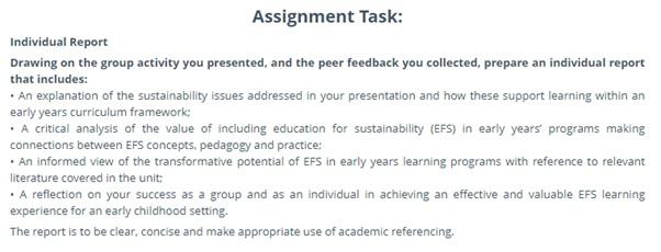 pedagogy essay writing sample