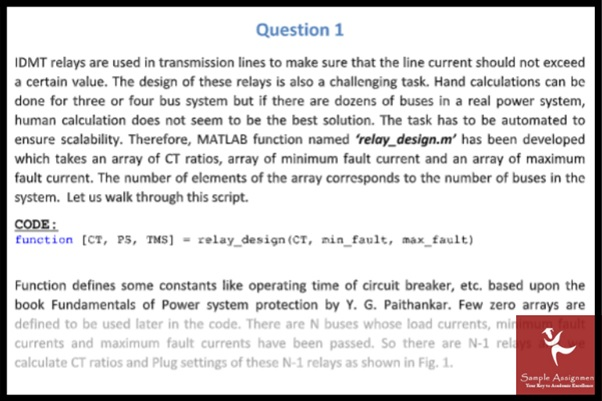 PhD electrical engineering assignment sample online
