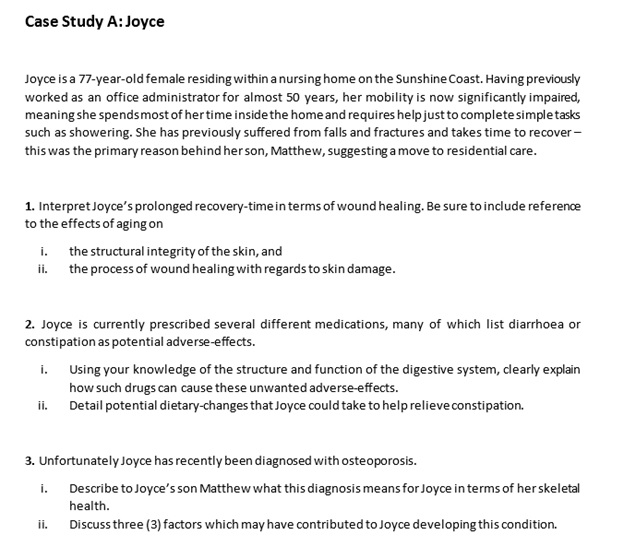 physiology essay case study