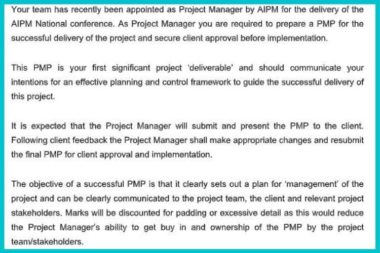 project management plan assignment help
