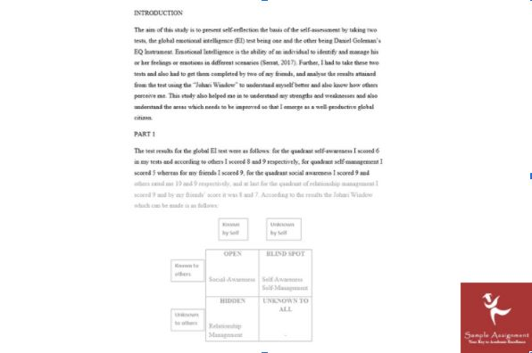 proofread and edited assignment answer by sample assignment UK